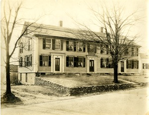 Cushing-Haven Tavern, Main Street, Shrewsbury (Mass.)
