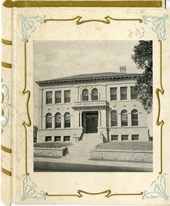 Dedication brochure for the Jubal Howe Memorial Library, Shrewsbury, Massachusetts September 24, 1903