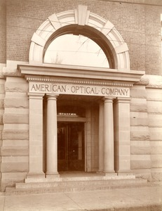 American Optical Company main entrance, Mechanic Street, Southbridge