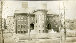 Front View of Marcy Street Grammar School Southbridge Massachusetts