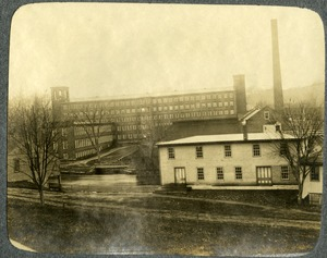 Hamilton Woolen Company, Southbridge, Massachusetts: view from Hamilton Street