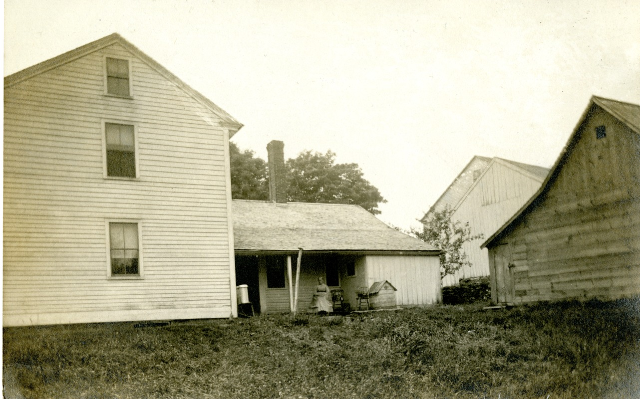 Harwood Family Farm, Crawford Road: Sarah B. Harwood Churning Butter