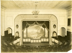 Interior of the Blanchard Theater, Southbridge, Massachusetts