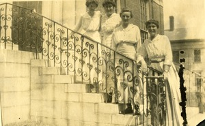 Ladies of the Jacob Edwards Library Southbridge Massachusetts 1916