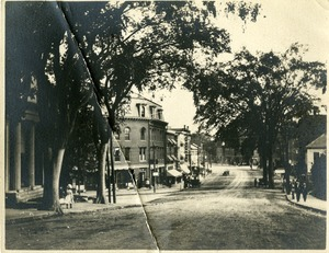 Leafy view of Centre Village Southbridge 1890