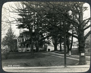 The Pines Southbridge residence of Ebenezer Ammidown and the Dresser family