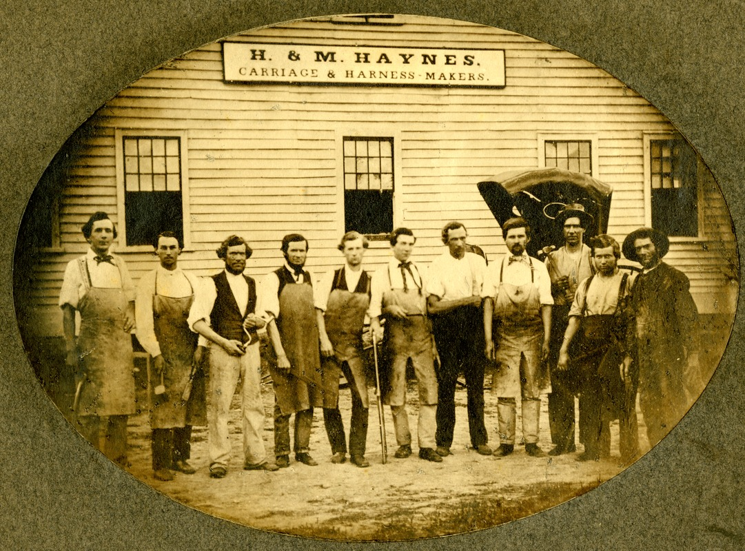 Carriage and harness makers, H & M Haynes, Sturbridge