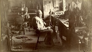 H. Haynes & son, carriage and harness makers workshop