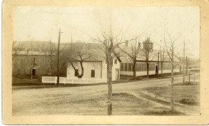 Snell Manufacturing Co, first wooden replacement- to the brook