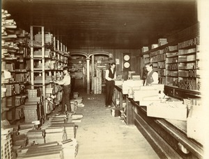 Snell Manufacturing Company Packing room