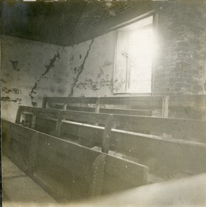Interior of the Uxbridge Meeting House