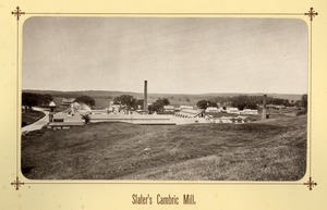 Slater's cambric mill
