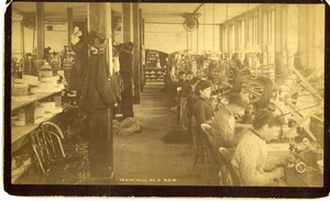 Sewing Hall No. 2 at the National Straw Works