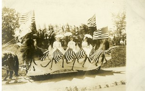 Photo 020 Ladies' Relief Corps. West Boylston Centennial Parade July 16, 1908