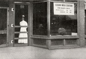 Clean Milk Station, Worcester, Massachusetts, 1908