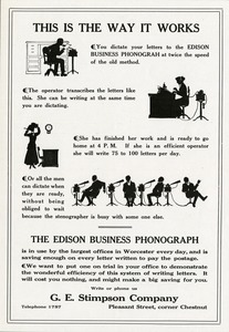 The Edison Business Phonograph