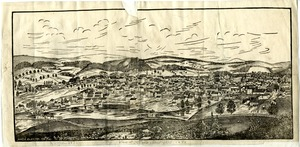 View of Worcester about 1835-1838