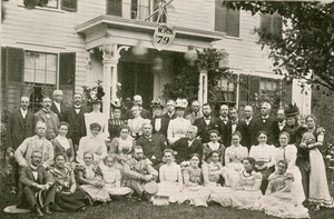 Worcester High School Class of 1879 Reunion, 1899