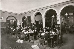 Worcester Public Library, Worcester, Massachusetts, 1909