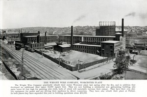 Wright Wire Company, Worcester Plant