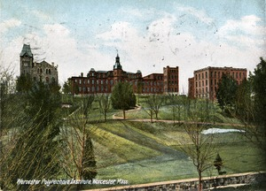 View of the Worcester Polytechnic Institute, Worcester Mass.
