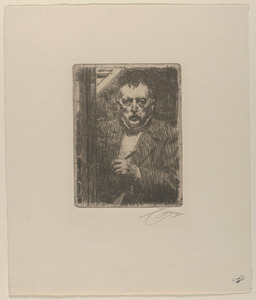 Self portrait, 1911