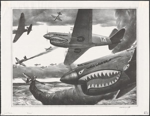"A.F.T.A.D. - ""Flying Tigers"" P-40"