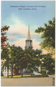Harkness Chapel, Connecticut college, New London, Conn.