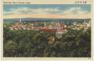 Bird's-eye view, Putnam, Conn.