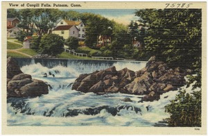 View of Cargill Falls, Putnam, Conn.