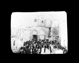 Church of the Holy Sepulchre built over the grave of our Savior