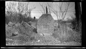 12 mile post Foot of Penn's Hill, Braintree. November, 1918