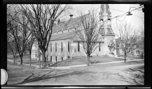 Wollaston Congregational Church. Winthrop and Lincoln Aves.