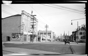 Hancock Street, westerly side north from Revere Road