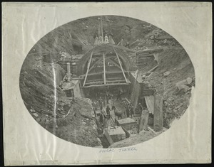 The east portal of the Hoosac Tunnel