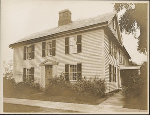 Barnard House, Main Street, Deerfield, Mass.
