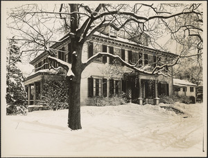 Front of Loring-Greenough House