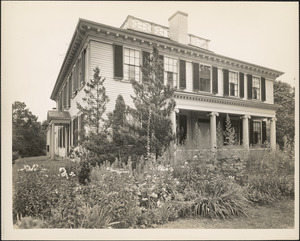 The Loring-Greenough House, 12 South Street at corner of Centre Street, Monument Square, Jamaica Plain