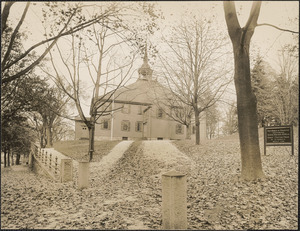 """First Church in Hingham, Mass., """"Old Ship"""""""