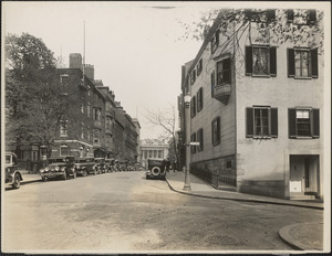 57-59 Mt. Vernon Street, 57 was home of Charles Francis Adams, 59 was home Thomas Bailey Aldrich, Beacon Hill