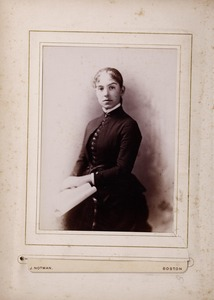 Newton High School, class of 1885 photographs - Unidentified Female Student -