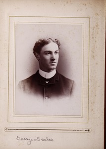 Newton High School, class of 1885 photographs - George Scales -