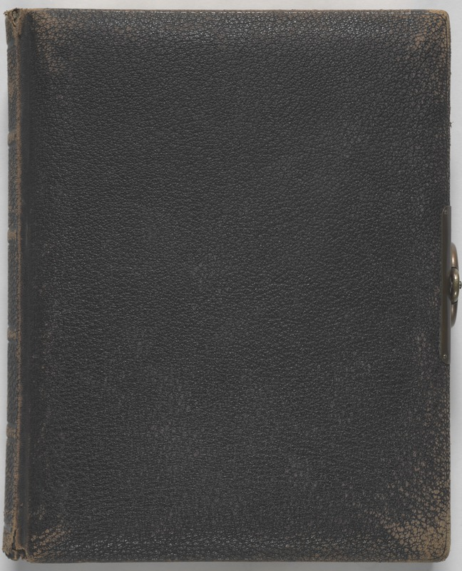 Newton High School, class of 1890 photographs - Front Cover of Album -