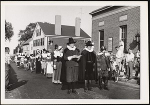 Plymouth, Mass. Pilgrim progress - enacted each Friday in August
