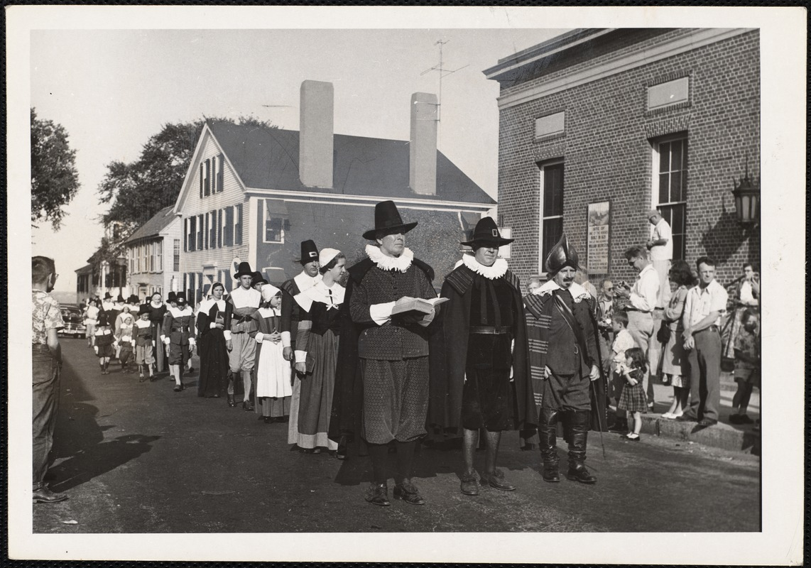 Plymouth, Mass Pilgrim Progress - reenacted each Friday in August