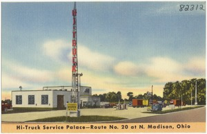 Hi-Truck Service Palace -- Route No. 20 at N. Madison, Ohio