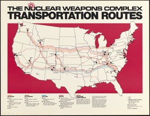 The nuclear weapons complex transportation routes