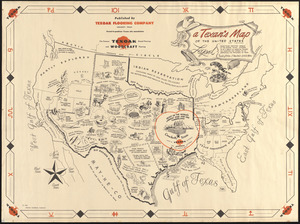 A Texan's map of the United States [of Texas]