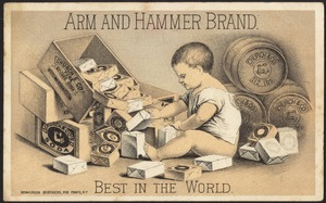 Arm and Hammer brand. Best in the world.