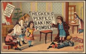 Heckers' perfect baking powder